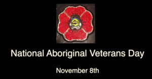 National Aboriginal Veterans Day by SBE
