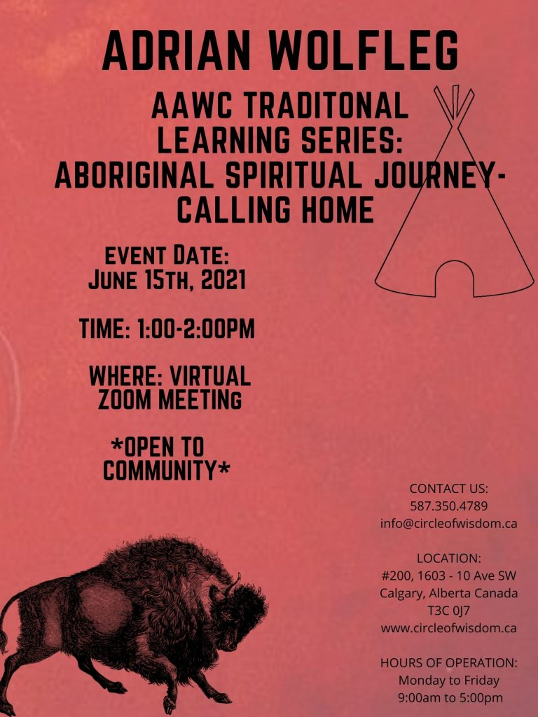 AAWC Traditional Learning Series: Aboriginal Spiritual Journey – Calling Home