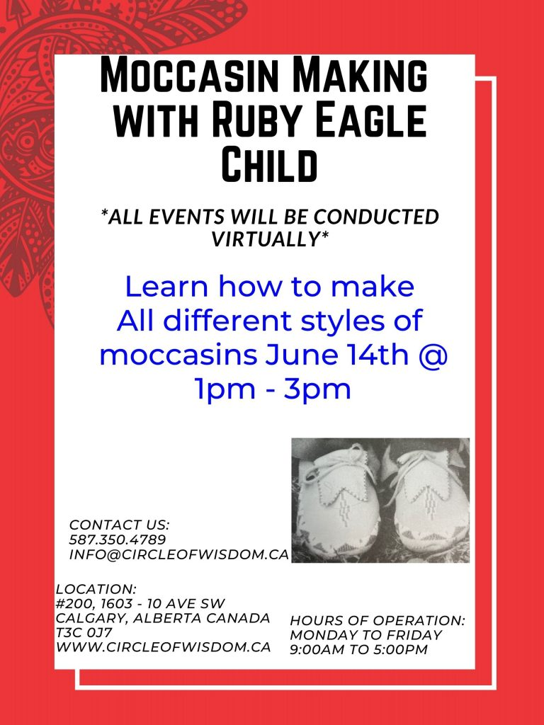 Moccasin Making With Ruby Eagle Child