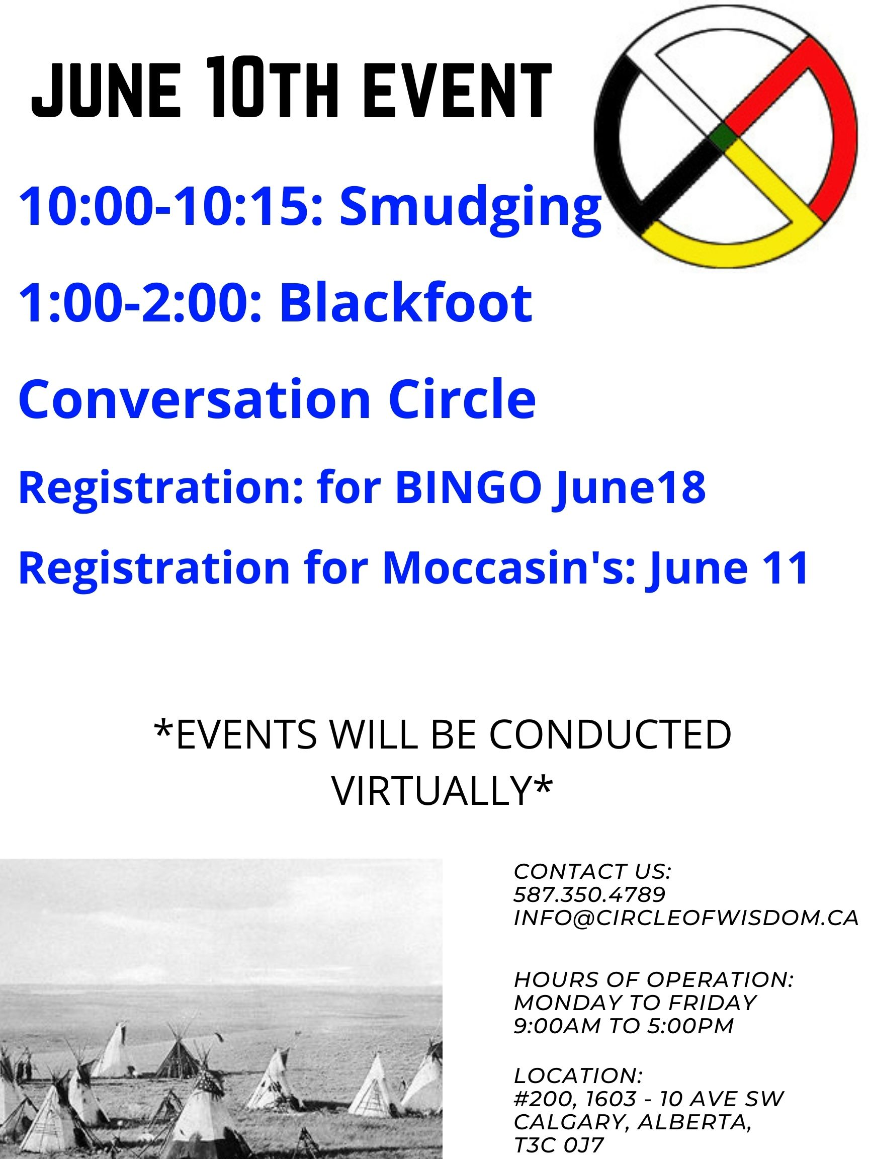 Blackfoot Conversation Circle