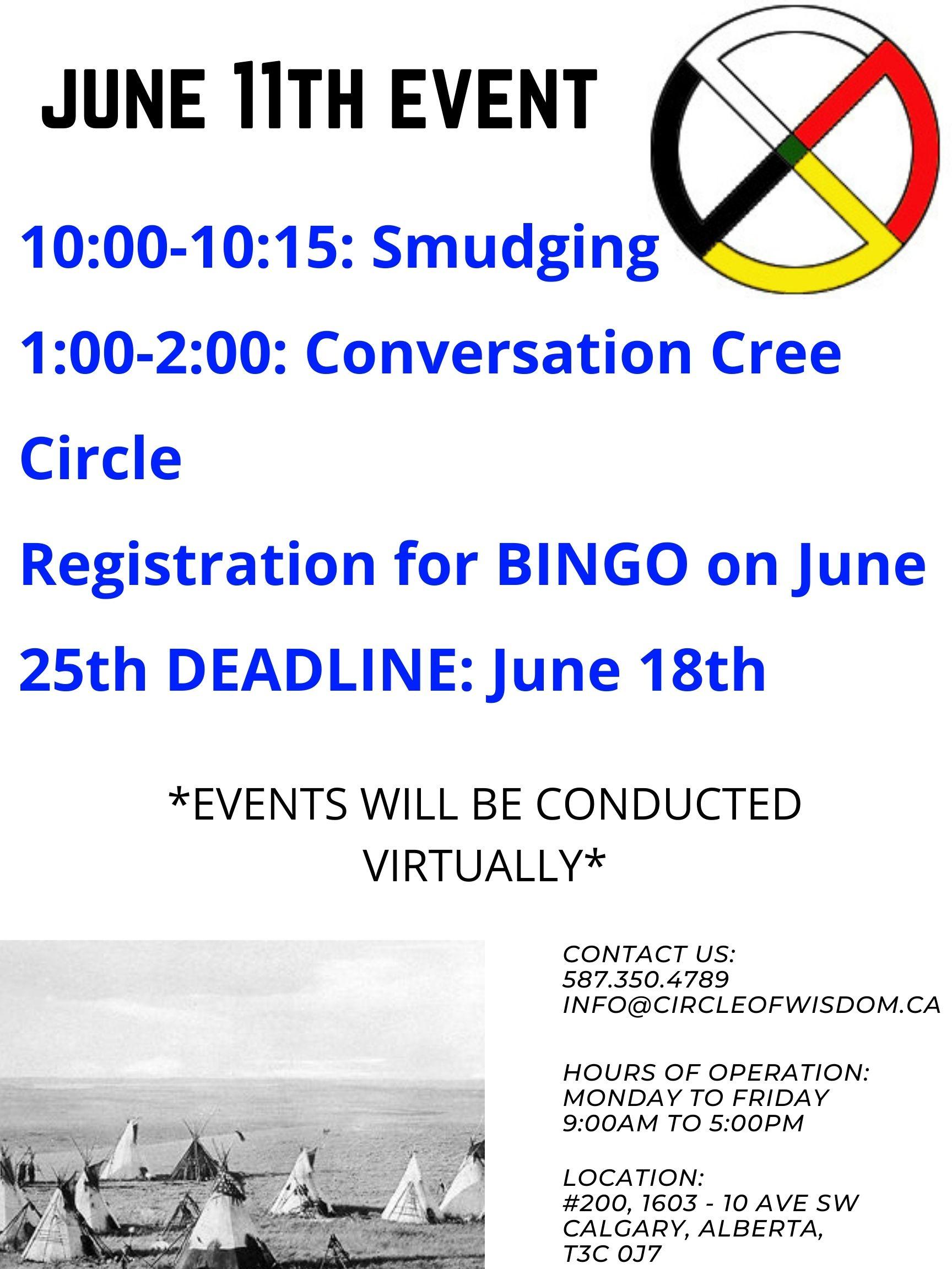 Conversation Cree Circle